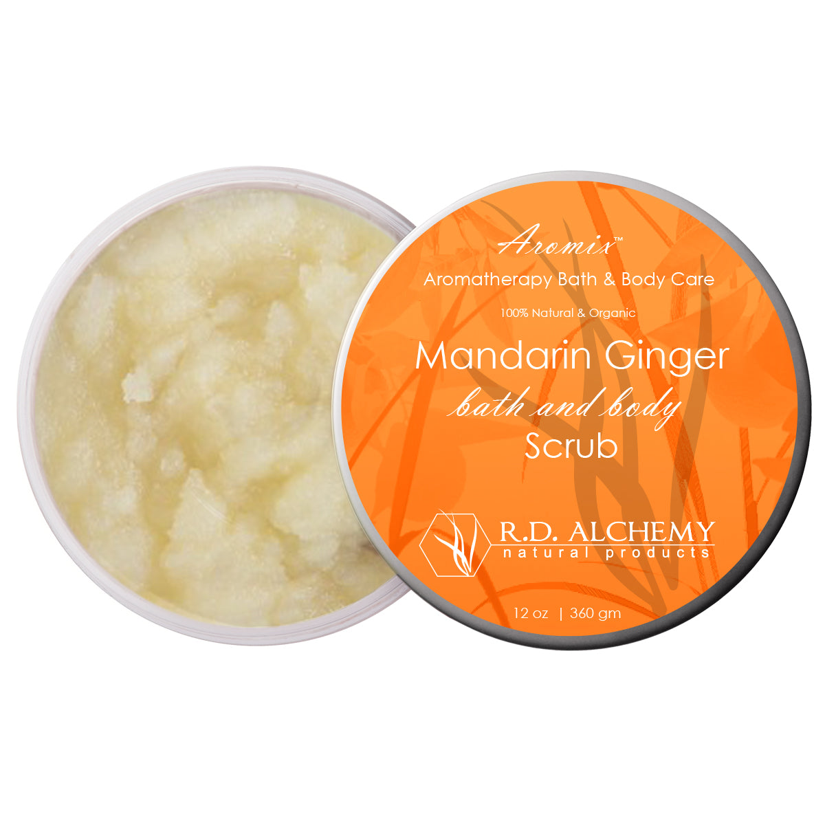 Mandarin Ginger - Sea Salt Body Scrub