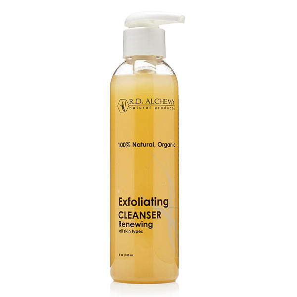 organic exfoliating cleanser