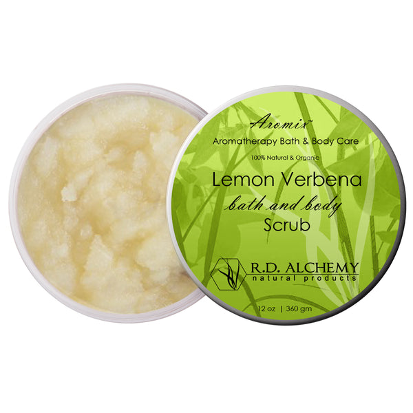 Organic Lemon Verbena - Sea Salt Body Scrub