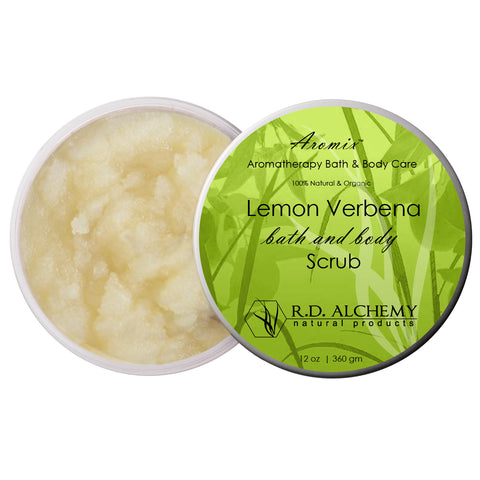 Aromix Aromatherapy Sea Salt Body Scrub - Lemon Verbena