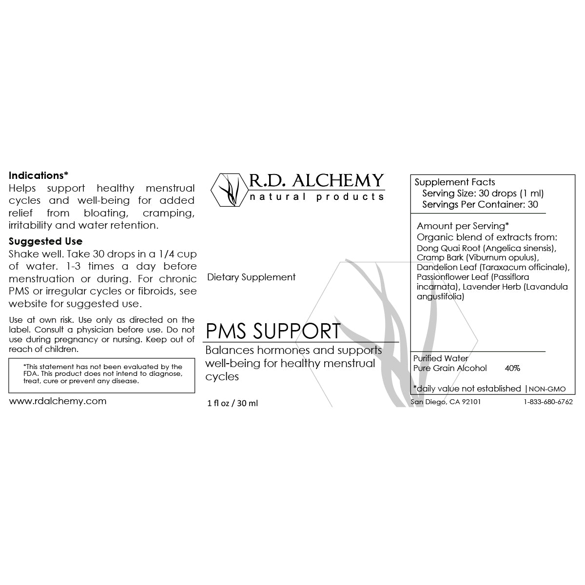 PMS Support Extract