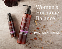 menopause support body lotion