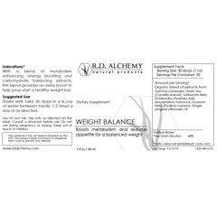 Weight Balance Extract