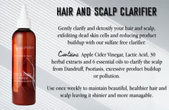Hair and Scalp Clarifier with Apple Cider Vinegar - RD Alchemy