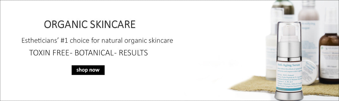 natural skincare, esthetician's #1 choice for natural organic skincare
