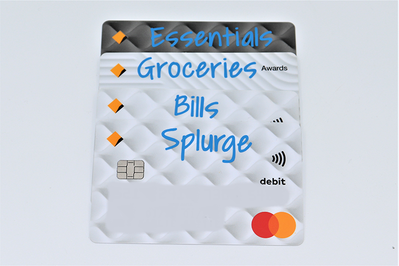 Bank Cards Pack (4 Labels)