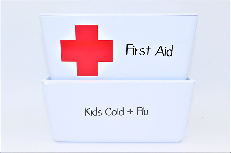 First Aid Label