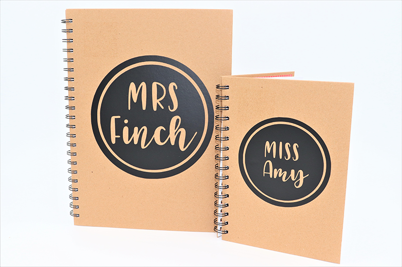 Notebook Name Decal