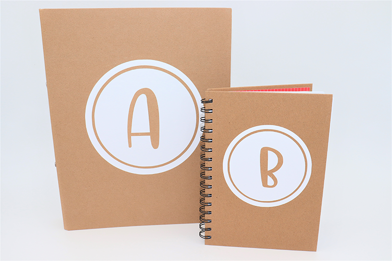 Notebook Initial Decal