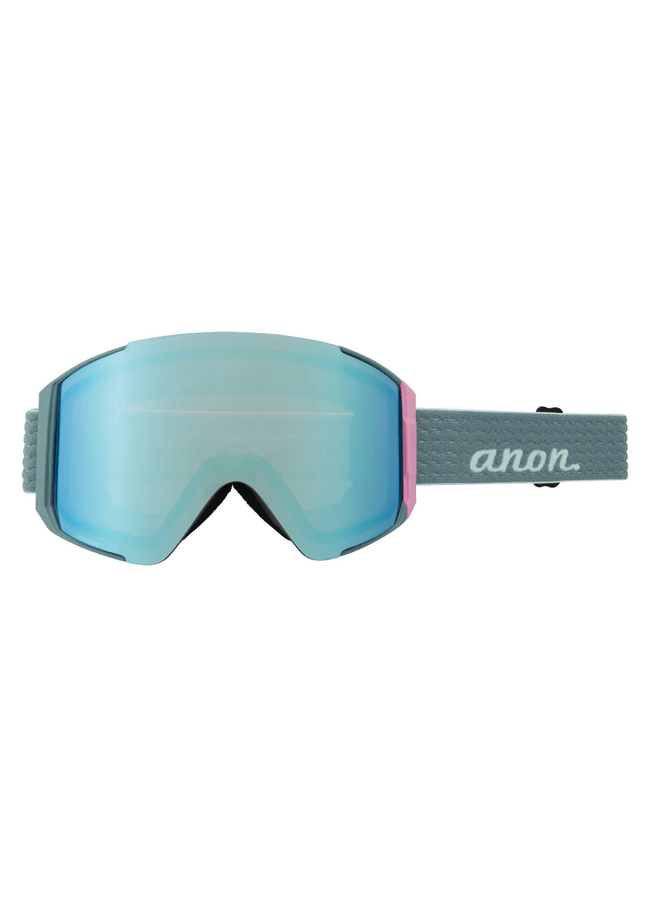 Goggles Anon Sync - Gray pop / PERCEIVE cloudy pink + PERCEIVE variable blue