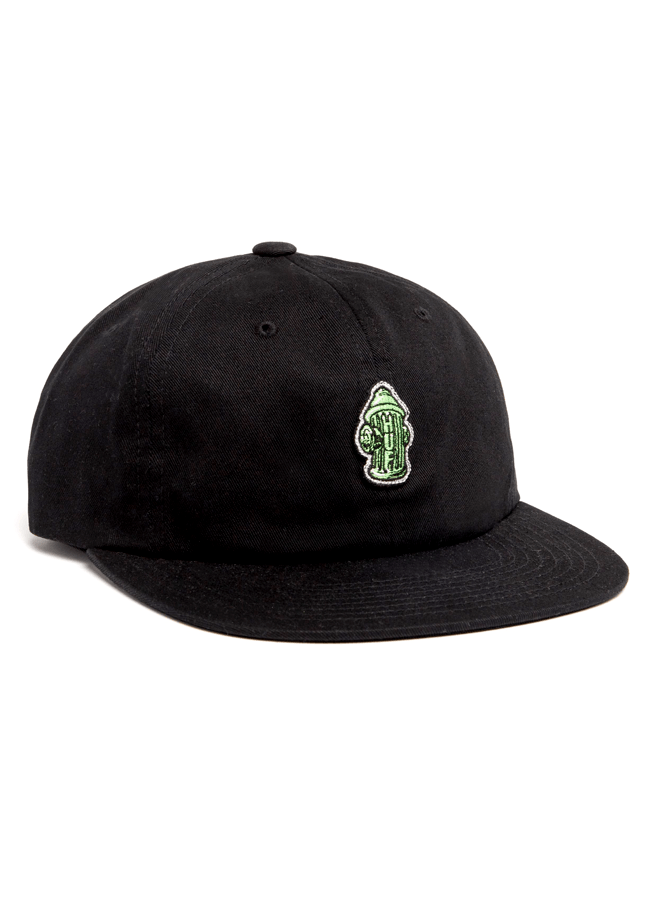 Hat Huf Hydrant unstructured 6 panel - Black