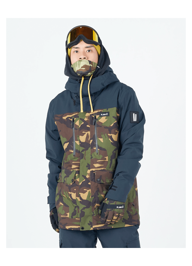 Jacket Planks Good times insulated - British DPM camo