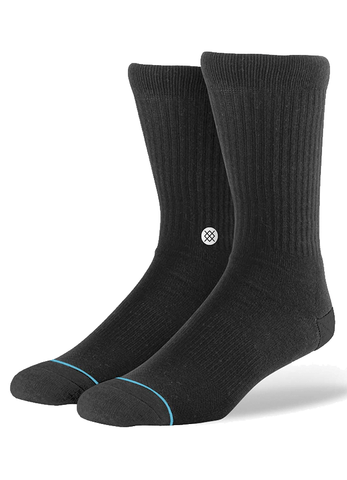 Socks Stance Icon - Black / White