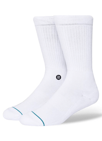 Socks Stance Icon - White / Black