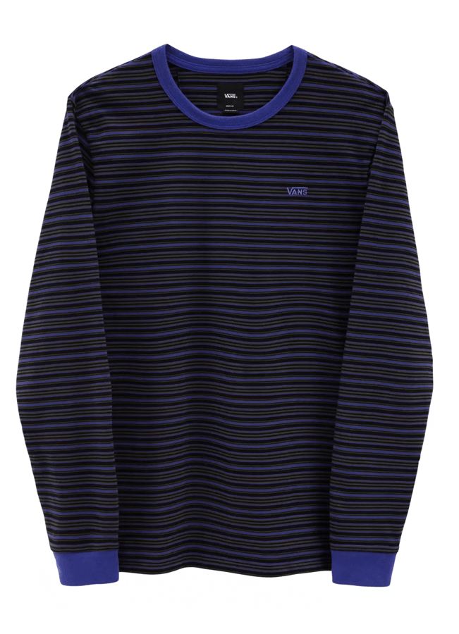 Long sleeve Vans Micro stripe - Black