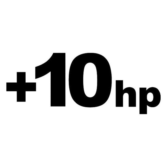 102 - +10HP Vinyl Printed Sticker