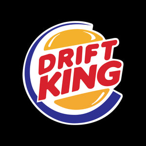 P178 - Drift King Vinyl Printed Sticker