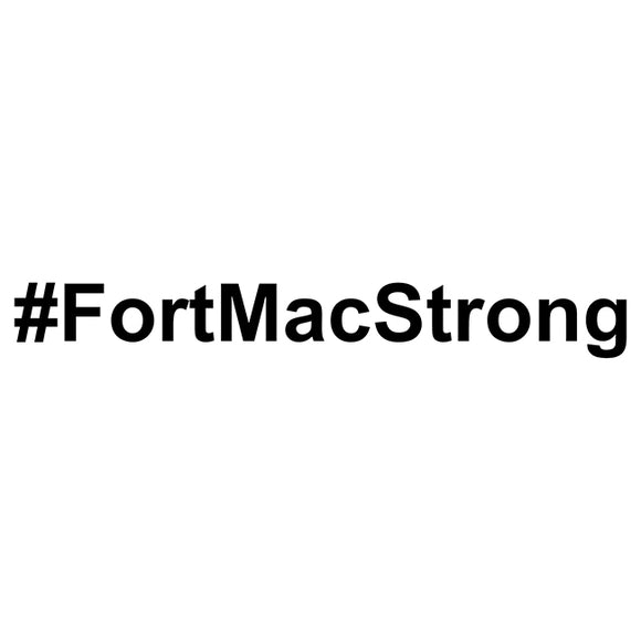 FORT MAC STRONG DECAL STICKER