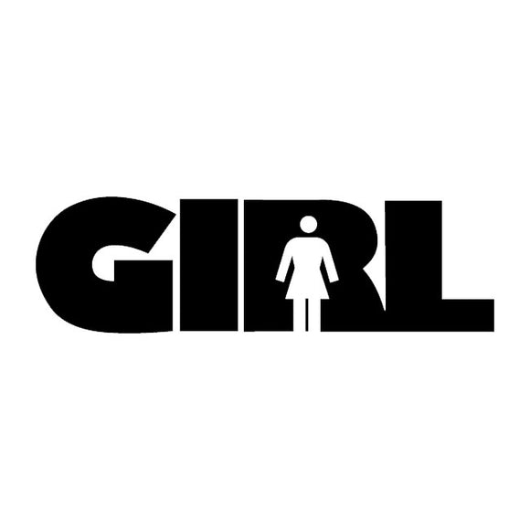 GIRL DECAL STICKER