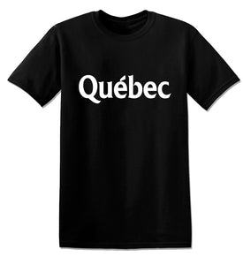 T1140 - Quebec Funny Offensive Unisex T-Shirt