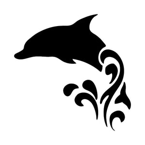 359 - Dolphin Die Cut Vinyl Decal