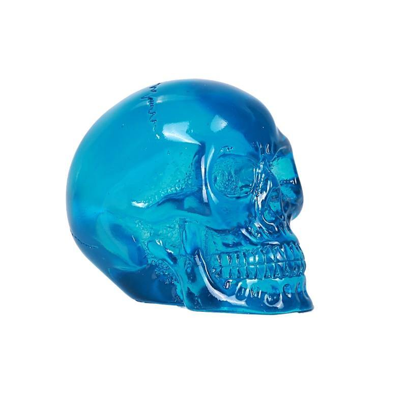 Blue Translucent Skull - Altered Reality