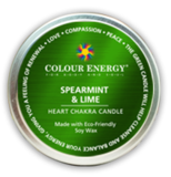 Chakra Soy Candle Green Heart - Altered Reality