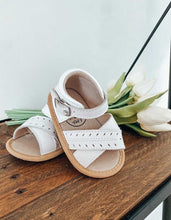 Load image into Gallery viewer, Madison Sandal - White