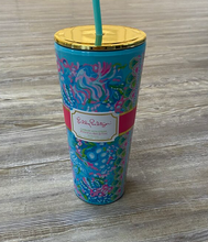 Load image into Gallery viewer, Lilly Pulitzer Tumbler