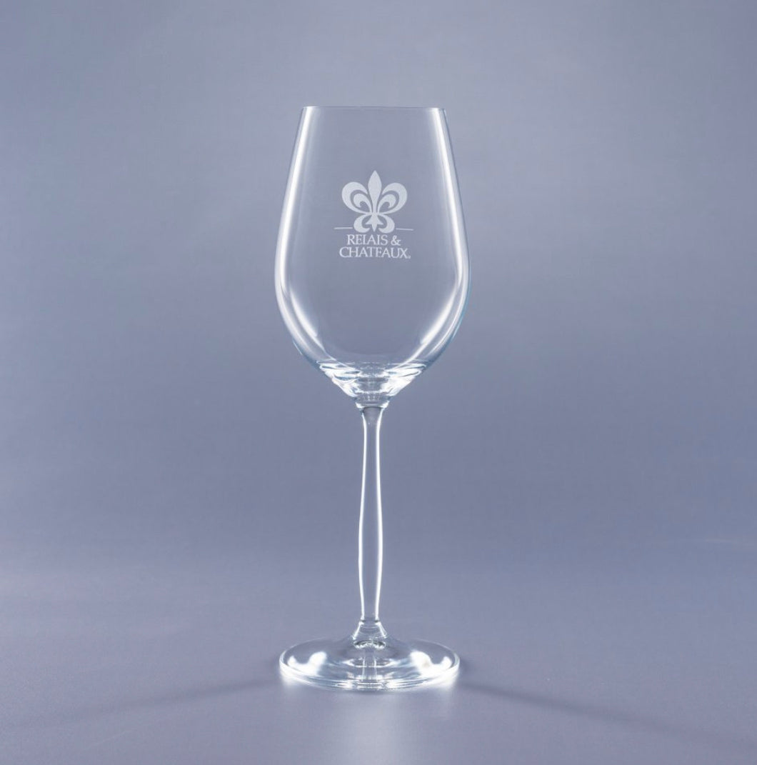 Custom White Wine Glasses