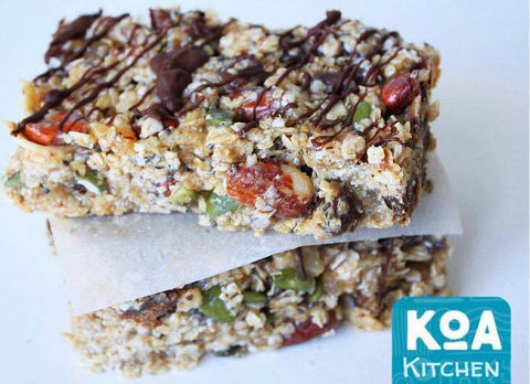 Kewaza No Bake Granola Bars