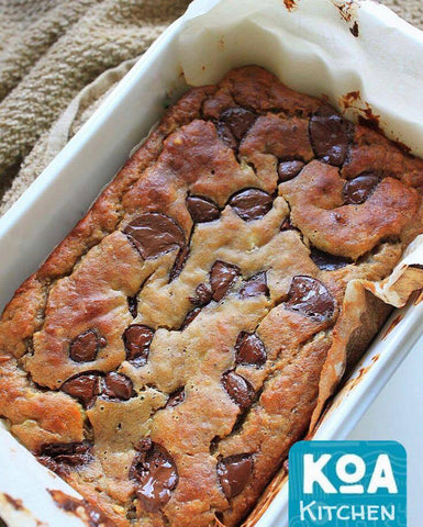 Kewaza Chocolate Chip Banana Bread