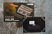 Load image into Gallery viewer, Boss AD-10 Acoustic Pro Preamp Pedal, Effect Processor with Looper