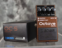 Load image into Gallery viewer, Boss OC-5 Octave Pedal Next Gen Polyphonic or Mono