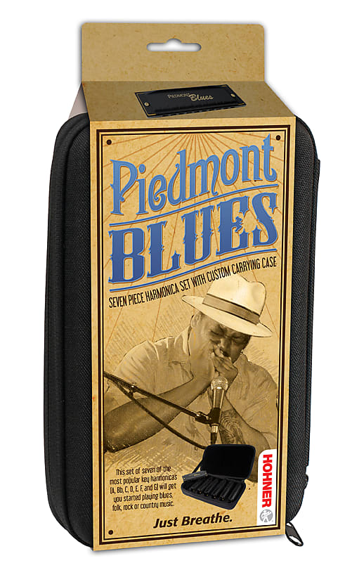 Hohner Piedmont Blues Seven Piece Harmonica Set