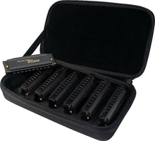 Load image into Gallery viewer, Hohner Piedmont Blues Seven Piece Harmonica Set
