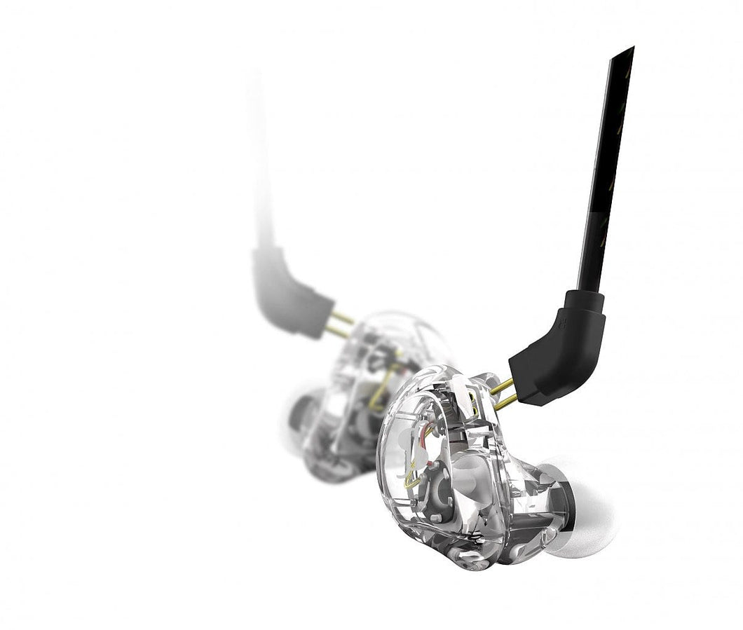 Stagg SPM-235-TR High-Resolution, Sound-Isolating In-Ear Monitor, Transparent