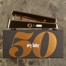 Load image into Gallery viewer, Dunlop 50th Anniversary Gold Cry Baby Wah