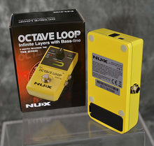 Load image into Gallery viewer, NuX Octave Loop Pedal True Bypass Looper w Bass Line