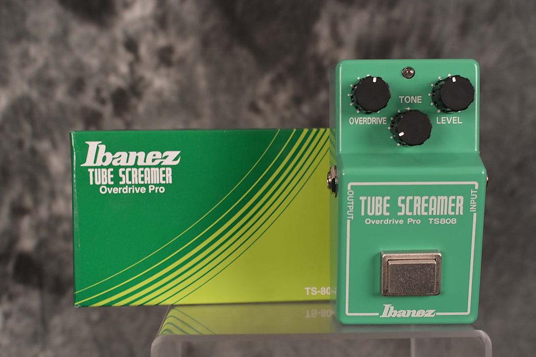 Ibanez TS-808 Tube Screamer Overdrive Pro Pedal