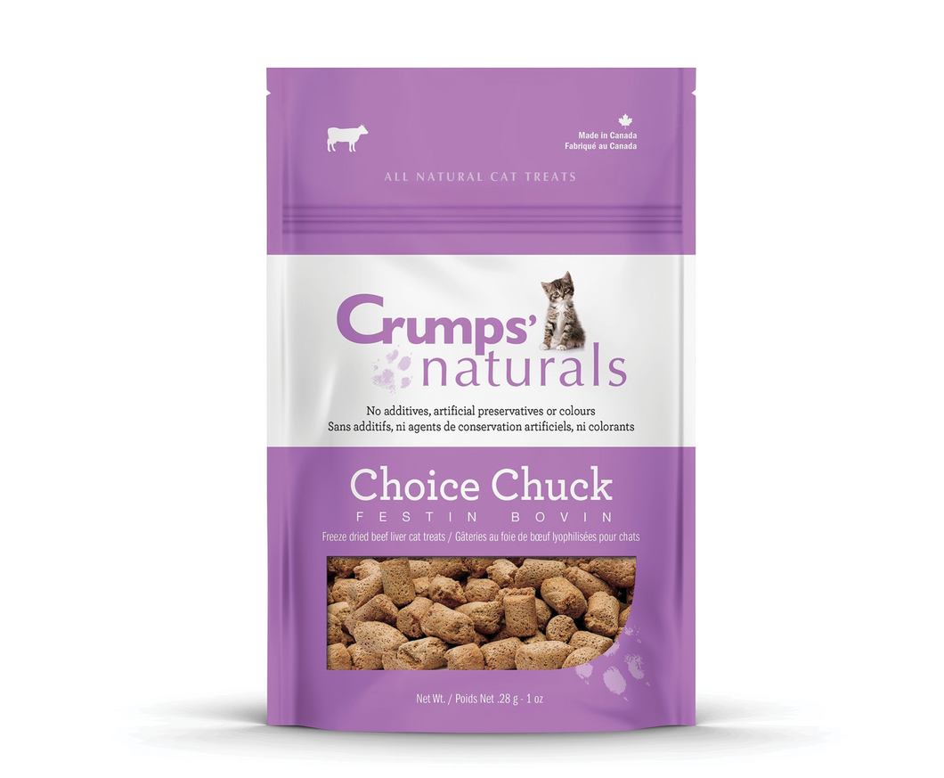 CRUMPS' NATURAL Choice Chuck Cat Treats
