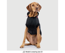 Load image into Gallery viewer, CANADA POOCH Reflective Hybrid Jacket Black