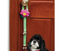 Load image into Gallery viewer, COASTAL Li'l Pals Dog Potty Training Bells - Flower