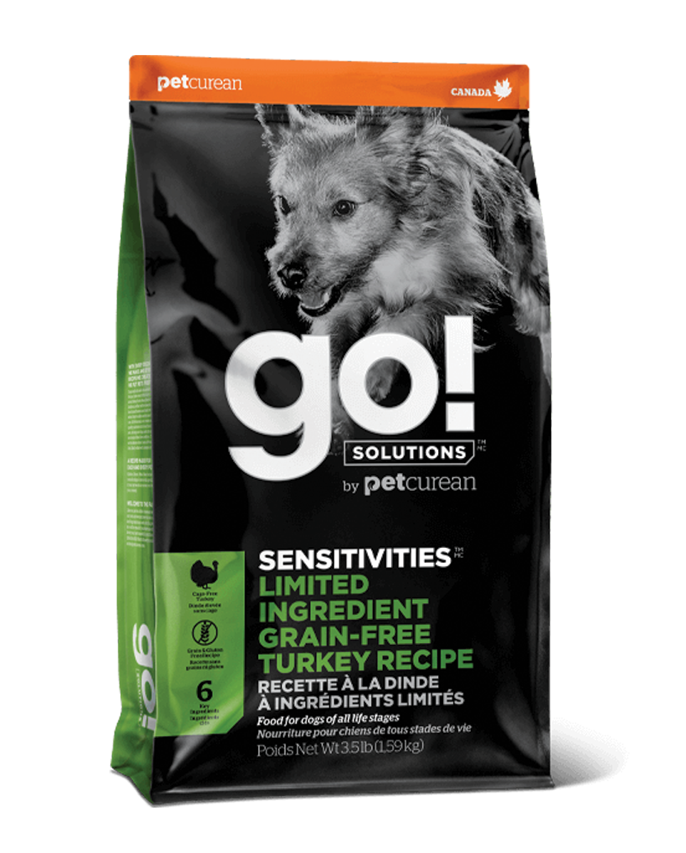 GO DOG Limited Ingredient Grain Free Turkey Recipe 3.5LG
