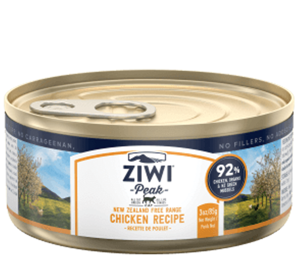 ZIWI Peak Wet Free-Range Chicken Recipe for Cats 85G