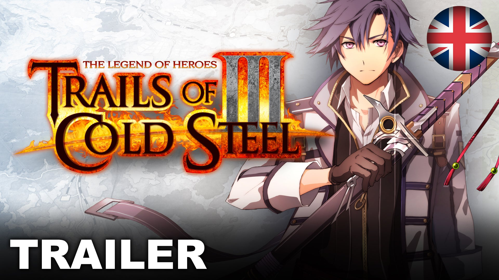 The Legend of Heroes: Trails of Cold Steel III - Announcement Trailer (Nintendo Switch)