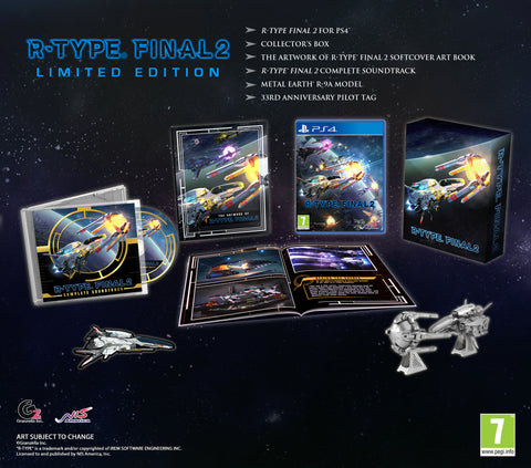 R-Type® Final 2 - Limited Edition - PS4®