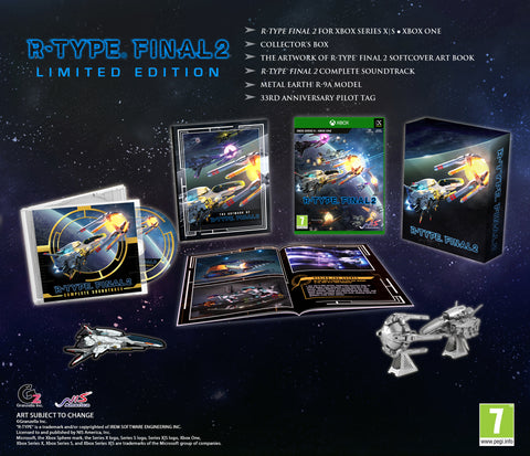 R-Type® Final 2 - Limited Edition - Xbox One • Xbox Series X