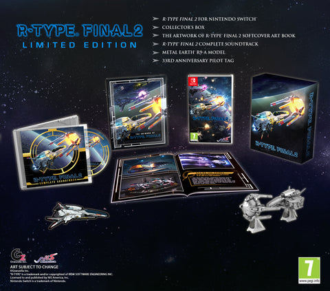 R-Type® Final 2 - Limited Edition - Nintendo Switch™