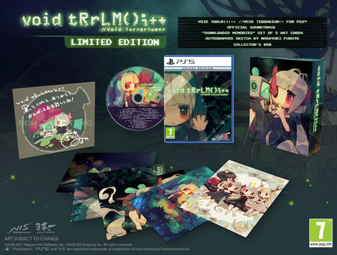 Void tRrLM();++ //Void Terrarium++ - Limited Edition - PS5